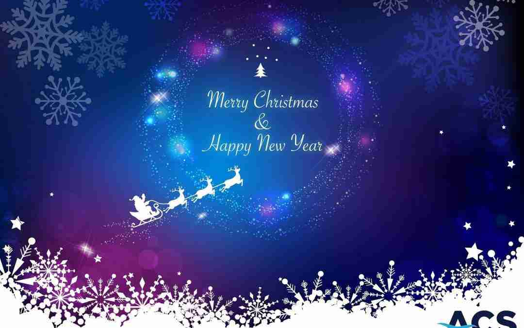 Merry Christmas and a Happy New Year from all at ACS